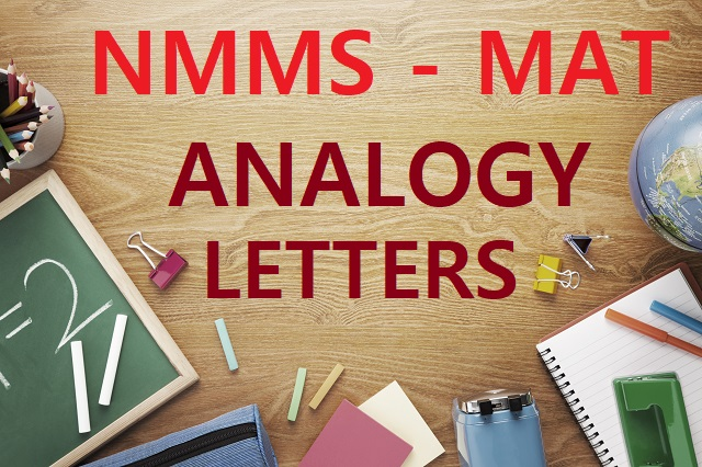 analogy questions letters